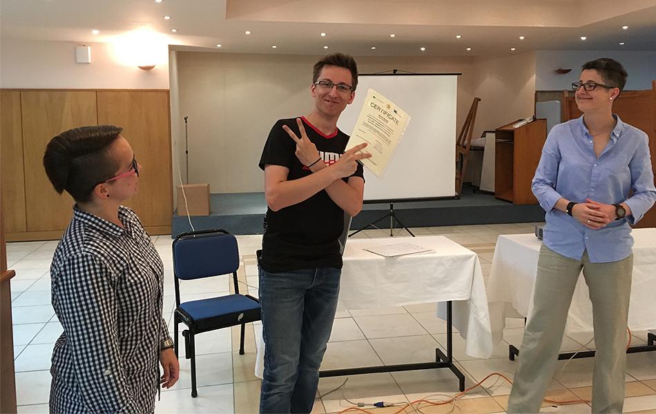Certificate event